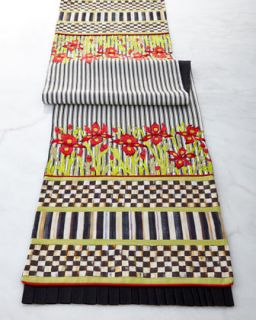 Iris Table Runner   MacKenzie Childs