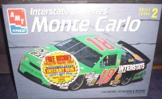 #8186 AMT/Ertl Bobby Labonte #18 INterstate Batteries Monte Carlo 1/25 Scale Plastic Model Kit,Needs Assembly: Everything Else