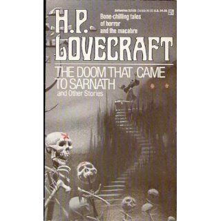 The Doom That Came to Sarnath (A Del Rey book): H.P. Lovecraft: 9780345331052: Books