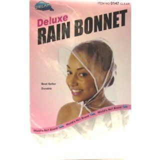 Dream Rain Bonnet Plastic #0147 (Pack of 12) #0147: Beauty