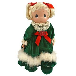 Precious Moments 2011 Little Miss Christmas Holiday Stocking Doll: Toys & Games
