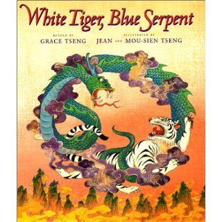 White Tiger, Blue Serpent Grace Tseng, Jean & Mou sien Tseng 9780688125165  Kids' Books