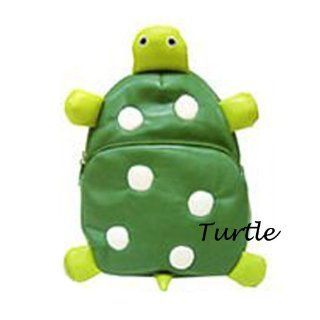 Children Bag School Cartoon Animal Backpack Baby Toddler Kid's Leather Schoolbag Shoulder Bag Kindergarten Bag (Turtle): Everything Else