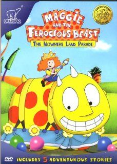 Maggie and The Ferocious Beast   The Nowhere Land Parade (Includes 5 Adventure Stories   Desert Treasure / Just A Little Off The Top/Soup Bowls And Roller Coasters / Guess Who I Am!): Movies & TV
