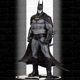 DC Direct Batman Black  and  White Statue: Batman Arkham Asylum: Toys & Games