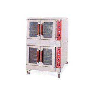 Vulcan Hart S/S Double Deck Gas Convection Oven Kitchen & Dining