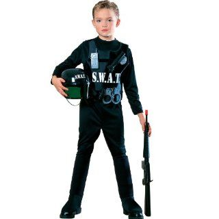 Young Heroes Child's S.W.A.T. Team Costume, Small: Clothing