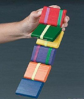 Jacob's Ladder old Fashion Colorful Wooden Toy  2 Pack Toys & Games