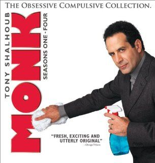 Monk: The Obsessive Compulsive Collection (Seasons One   Four): Tony Shalhoub, Traylor Howard, Jason Gray Stanford, Ted Levine, Laurie Metcalf, Charles Napier, Bre Blair, Jim Parrack, Gregg Daniel, Michael Shalhoub, Robert Bagnell, Robert Catrini, Sarah Si