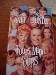Yours, Mine and Ours [VHS]: Lucille Ball, Henry Fonda, Van Johnson, Louise Troy, Sidney Miller, Tom Bosley, Nancy Howard, Walter Brooke, Tim Matheson, Gil Rogers, Nancy Roth, Gary Goetzman, Charles F. Wheeler, Melville Shavelson, Robert F. Blumofe, Bob Car