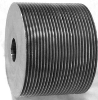 8J10.MPB Ametric� Poly V Pulley, J Profile, 8 Grooves, 1 inch Outside Diameter, Bored for a Min Plain Bore, (Mfg Code 1 023) V Belt Pulleys Industrial & Scientific