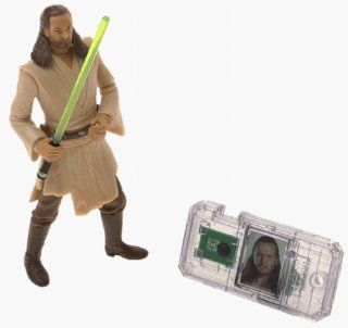 Star Wars: Episode 1 Qui Gon Jinn (Jedi Duel) Action Figure: Toys & Games