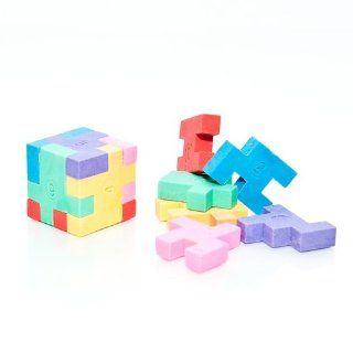 Puzzle Cube Erasers   12 per unit Toys & Games