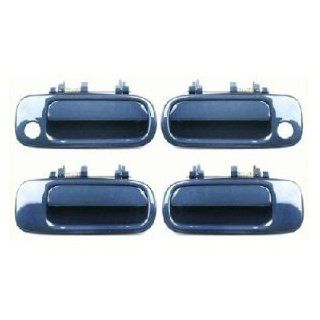 Motorking 6922033011C1 92 96 Toyota Camry Blue 8J6 Replacement Set 4 Outside Door Handles 92 93 94 95 96: Automotive