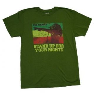 Bob Marley   Stand Up For Your Rights T Shirt Size 2X: Music Fan T Shirts: Clothing