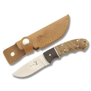 Elk Ridge ER 128 Outdoor Fixed Blade Knife 8 Inch Overall : Hunting Fixed Blade Knives : Sports & Outdoors