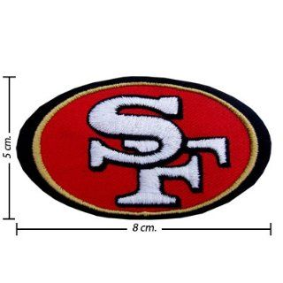 3pcs San Francisco 49ers Logo 1 Embroidered Iron on Patches Kid Biker Band Appliques for Jeans Pants Apparel Great Gift for Dad Mom Man Women Free Shipping From Thailand   High Quality Embroidery Cloth & 100% Customer Satisfaction Guarantee