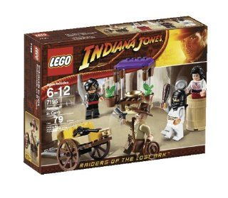 LEGO Indiana Jones Ambush in Cairo (7195): Toys & Games