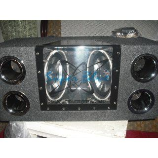 Pyramid BNPS102 10 Inch 1, 000 Watt Dual Bandpass System with Neon Accent Lighting  Vehicle Subwoofers
