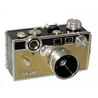 Vintage Argus C3 35mm Rangefinder Brick Camera : Pinhole Film Cameras : Camera & Photo