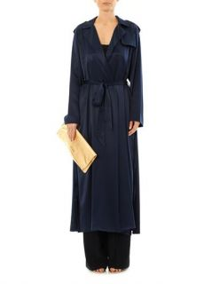 Silk trench coat  Adam Lippes