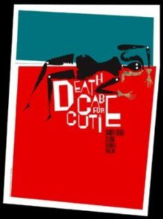 Death Cab for Cutie At Graceland ~ Original Silk Screen Poster ~ By Jeff Kleinsmith  Prints
