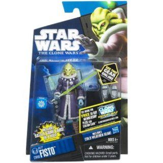 Star Wars 2011 Clone Wars Animated Action Figure CW No. 60 Kit Fisto Cold Weather Gear Toys & Games