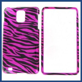 Samsung i997 (Infuse 4G) Zebra On Hot Pink (Hot Pink/Black) Protective Case: Computers & Accessories