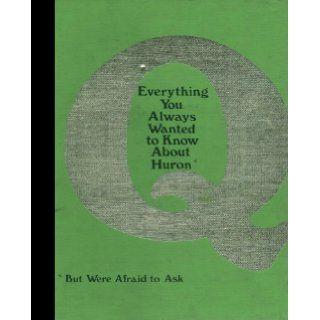 (Reprint) 1977 Yearbook: Huron High School, Ann Arbor, Michigan: Huron High School 1977 Yearbook Staff: Books