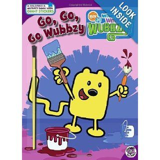 Go, Go, Go, Wubbzy! (Nick Jr. Wow! Wow! Wubbzy!): Tina Gallo, Rudy Obrero: 9781416971337:  Kids' Books