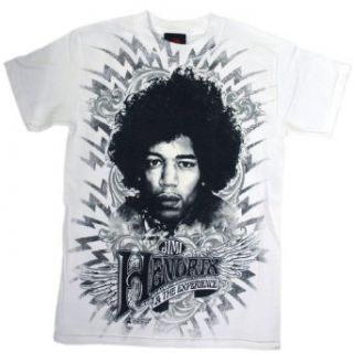 Jimi Hendrix   Wing Emblem T Shirt: Clothing