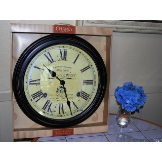 Chaney Instruments 18 Inch Vintage Port Wine Wall Clock   Wall Clocks Large Decorative