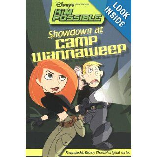 Disney's Kim Possible Showdown at Camp Wannaweep   Book #3 Chapter Book Kiki Thorpe 9780786845873  Kids' Books
