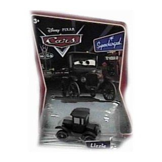 ** Possible Opener Damaged Outer Package** Lizzie Disney Cars Supercharged Background Card Edition 1:55 Scale Mattel: Toys & Games