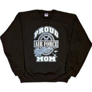 MENS SWEATSHIRT : PINK   XX LARGE   Proud Air Force Mom   Military USAF: Clothing