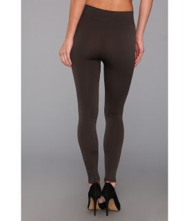 Brigitte Bailey Staci Fleece Legging Charcoal, Clothing, Women