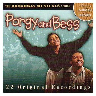 George Gershwin Porgy and Bess (Excerpts / Highlights) ORIGINAL BROADWAY CAST MEMBERS (Recorded 1940/1942))    Anne Brown, Todd Duncan, Edward Matthews, Avon Long, Helen Dowdy, The Eva Jessye Choir, Decca Symphony Orchestra, Alexander Smallens (conductor