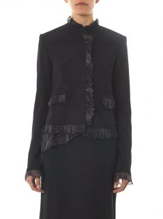Abstract chiffon ruffle cady jacket  Christopher Kane  MATCH