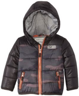 Carters Watch the Wear Boys 2 7 Boy Camo Heavyweight Bubble Jacket, Camo, 5/6: Clothing