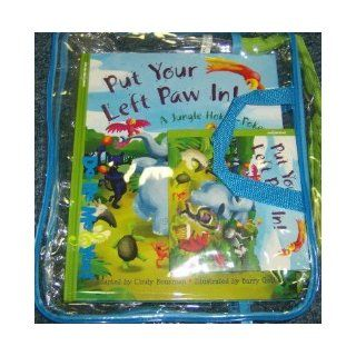 Put PUT Your Left PAW In Multi sensory Book and Musical Cd Set by Kindermusik Barry Gott 9781589871397 Books
