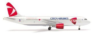 Daron Herpa CSA A320 New Livery Model Kit (1/500 Scale) Toys & Games