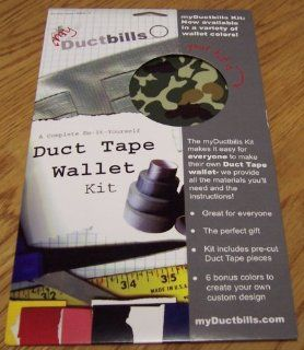 My Ductbills Duct Tape Wallet Craft Kits, CAMO : Office Adhesives And Accessories : Office Products