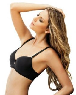 Laura Women's Demi Black Bra Natural Enhancement #101095 at  Women�s Clothing store: Bras