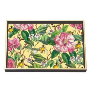 Michel Design Works Provence Vanity Decoupage Wooden Tray   Kitchen Utensil Trays