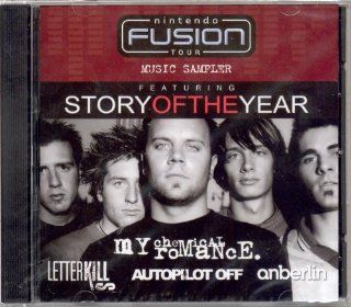 Nintendo Fusion Tour Music Sampler: Story Of The Year, My Chemical Romance, Letter Kills, Autopilot Off, Anberlin: Music