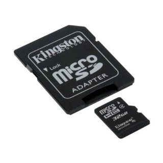 Kingston Class4 32GB Micro SD Card with Adapter ( will fit Samsung Galaxy S3 ) Computers & Accessories