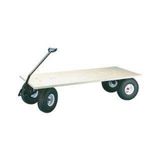 Farm Tuff Flatbed Wagon   48in.L x 24in.W, 1000 Lb. Capacity, Model# FRW  Yard Carts  Patio, Lawn & Garden