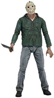 """Neca Friday the 13th Series 1   Jason Part 3 Regular   7"""" Action Figure Toys & Games"""