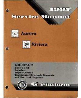 1997 Buick Riviera Olds Aurora Shop Service Repair Manual Book Engine Electrical Automotive