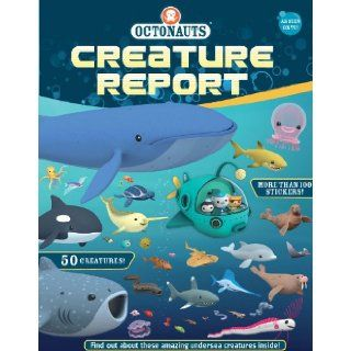 Octonauts Creature Report: Grosset & Dunlap: 9780448483542:  Kids' Books